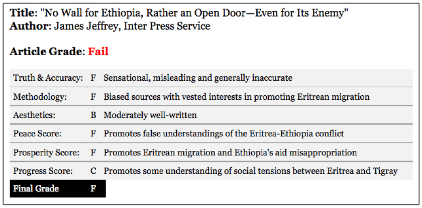 Article review no wall for ethiopia rather an open dooreven james jeffreys article article review on eritrean migration stopboris Image collections