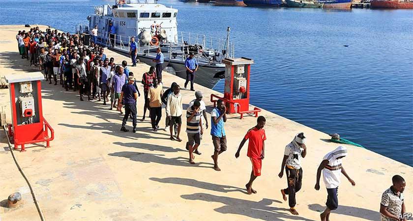 Migrant crisis - number of migrants falling
