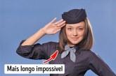 Disa arsye pse jo të gjitha vajzat e kanë mundësinë për të punuar si stjuardesë