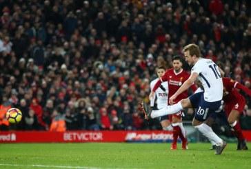 Liverpool arrihet në fund, Totenham barazon me penallti