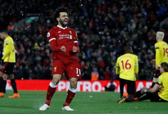 Muhamed Salah shënon me breshëri: 4 gola në portën e Watford