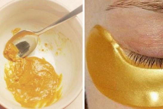 Receta si të pregatisni maskën e artë kundër rrudhave