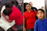 Nënë e bir takohen 1 muaj pasi i ndau Trump, lot gëzimi në aeroport