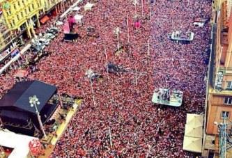 Festa kroate: deliri pushton Zagrebin në mirësëardhjen e nënkampionëve të botës (video)