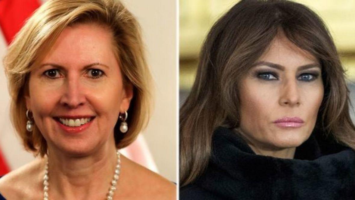 Sherr grash nga Ballkani në Shtëpinë e Bardhë  kush është Mira Ricardel e sikterisur nga Melania Trump