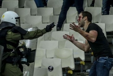 Kaos në takimin AEK – Ajax: tifozeria greke, Molotov drejt asaj hollandeze