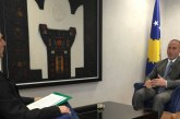 Haradinaj, pak ironi me Mogherinin dhe një përbetim: tarifat ndaj Serbisë nuk do hiqen