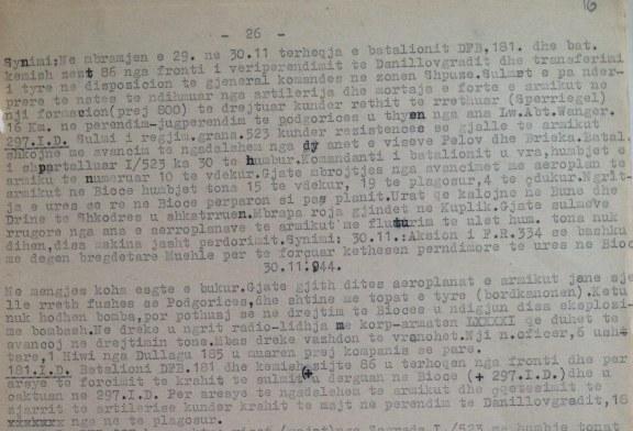 DEBATI I PASHTERRSHËM/ Ditari i një majori gjerman: ç'shkruante ai për 28 dhe 29 nëntorin '44
