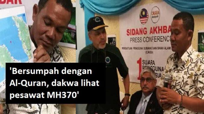 MISTERI  Peshkatari betohet në Kur an  ja ku ra avioni i Malaysia Airlines më 8 mars 2014
