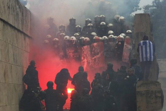 """NACIONALIZMI/ """"Maqedonia"""" përflak Athinën"""