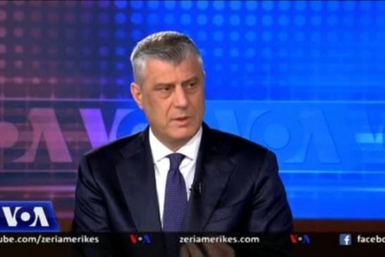 """INTERVISTA/ Thaçi në VOA: """"Korrigjimi i kufijve"""", të jetosh mes konspiracioneve dhe paranojave"""