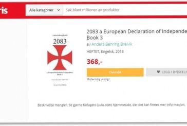 Libraria më e madhe norvegjeze online shiti Manifestin e Anders Breivik