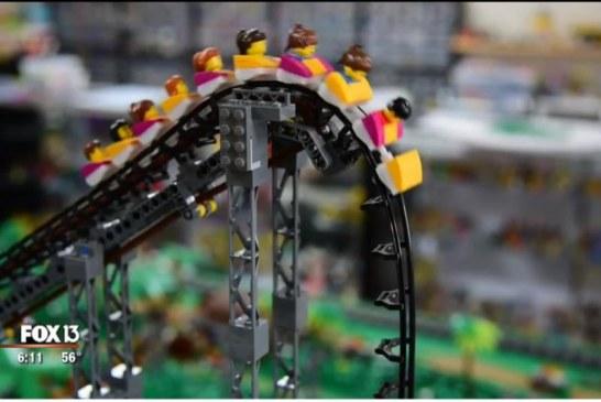 Gati për Guinness: treni-lego me 100 km në orë (video)