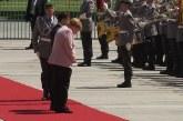 Kancelarja Merkel në gjendje të keqe shëndetësore, për pak sa nuk i bie të fikët në takim
