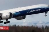Video: Boeing teston bishën me dy motorë