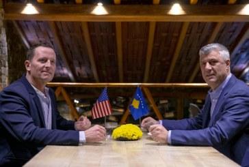Dialogu i transferuar në BE, Thaçi mban kahjen amerikane: Pa SHBA, s'ka njohje!