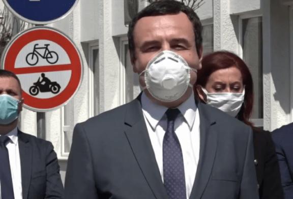 Kurti, thirrje ambasadorëve për krizën pandemike: ndihmojeni Kosovën!