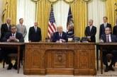 """Propozimi i Thaçit: Kosova, """"Urdhëri i Lirisë"""" për Presidentin Trump"""