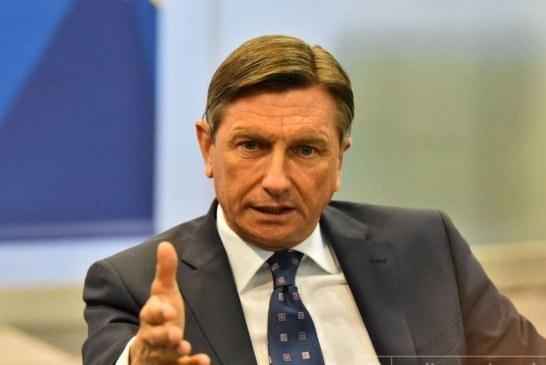 Pahor në Beograd: Synimi slloven për Shqipërinë
