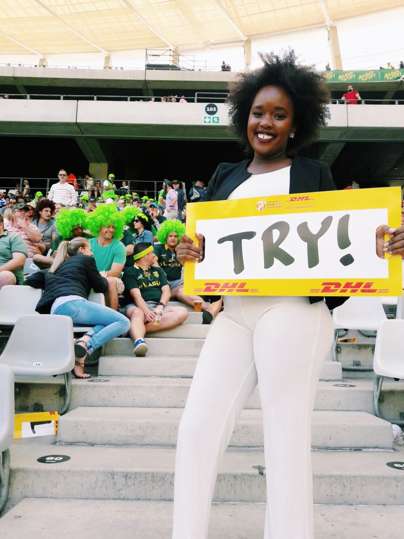 Teshie Ogallo at Cape Town Rugby 7s 2017