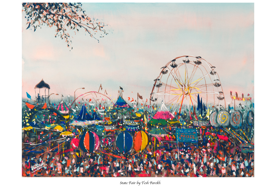 "Now available for purchase- ""State Fair"" Fine Art Print by Raleigh NC Fine Artist"
