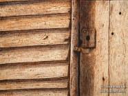 The Slave Cabin Door (12x16 Drybrush)