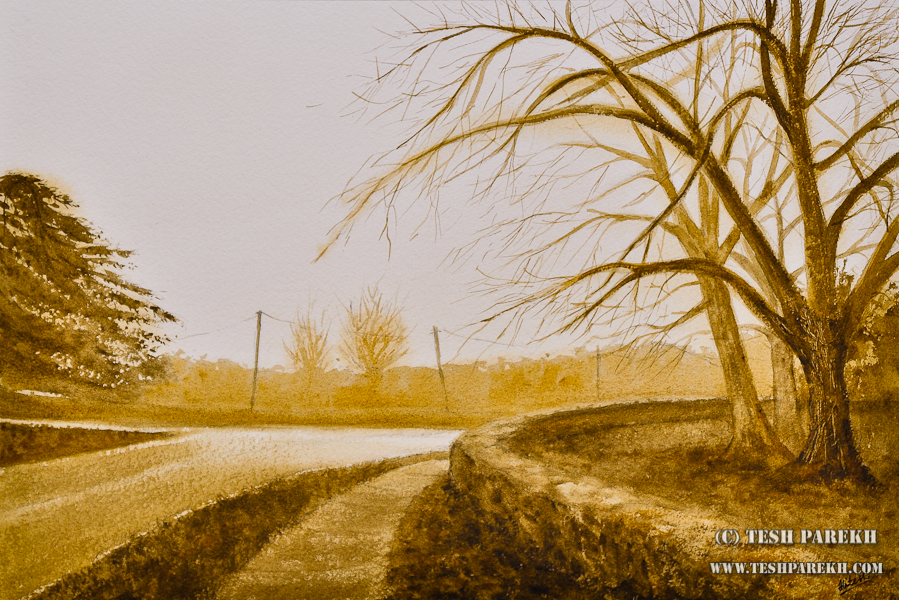 Watercolor paintings of Wake Forest – by Raleigh NC Fine Artist