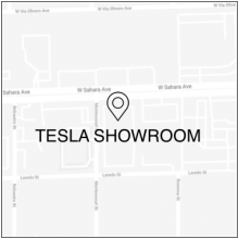2019 Las Vegas Event Las Vegas Showroom Map Icon