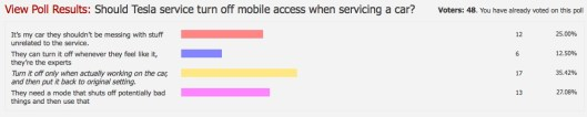 Service Mobile Settings
