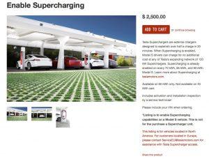 Add on Supercharging