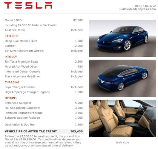 New Model S 20161115