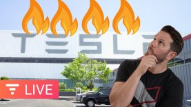 Did Sabotage at Tesla Factory Cause a Fire and Delay Your Model 3? [live]