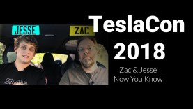 Tesla Catch Up with Zac & Jessie (Now You Know) at TeslaCon 2018