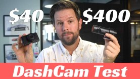 Tesla Dashcam vs $40 vs $400 DashCam Test