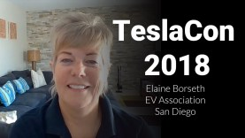 Tesla Roadtrip Tips with Elaine Borseth at TeslaCon 2018