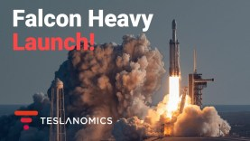 Tesla's Private Viewing of Falcon Heavy Launch Arabsat 6A