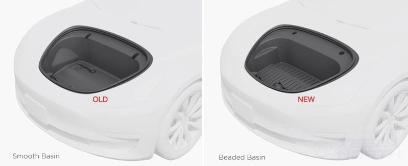 Model 3 frunk change