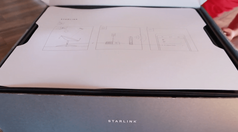 Spacex starlink unboxing