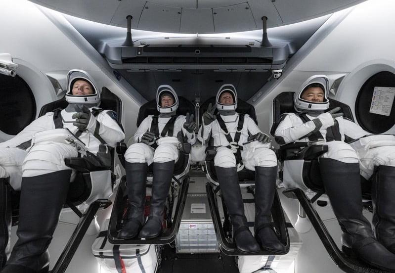 Crew 2 mission astronauts