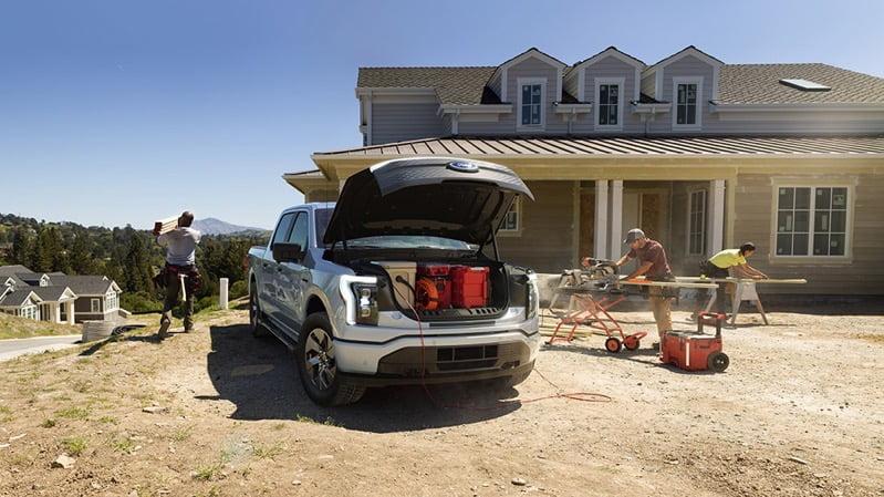 Ford f 150 frunk