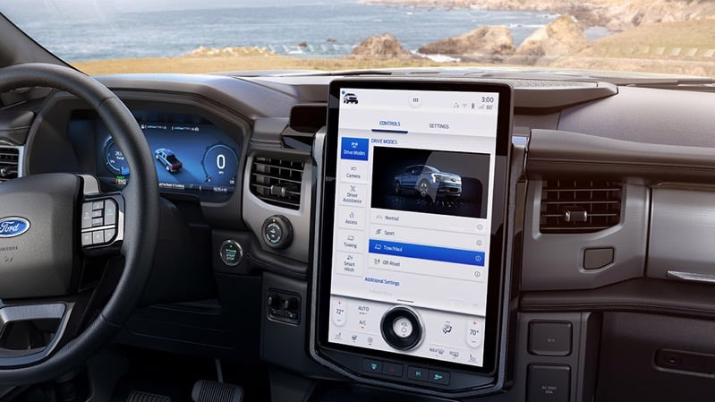 Ford f 150 screens