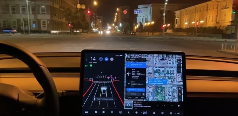 Watch a Tesla Model 3 with FSD Beta Drive in the Ukraine [VIDEO] - TeslaNorth.com