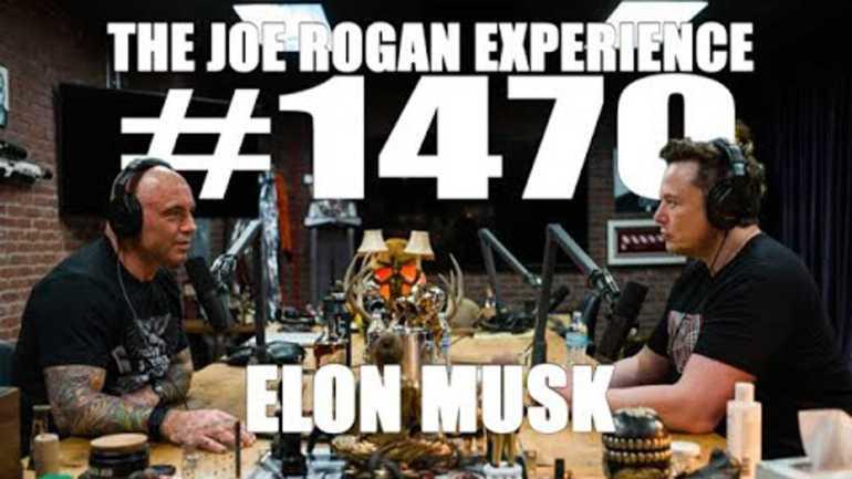 Элон Маск снова выходит на подкаст Джо Рогана и рассказывает о будущем