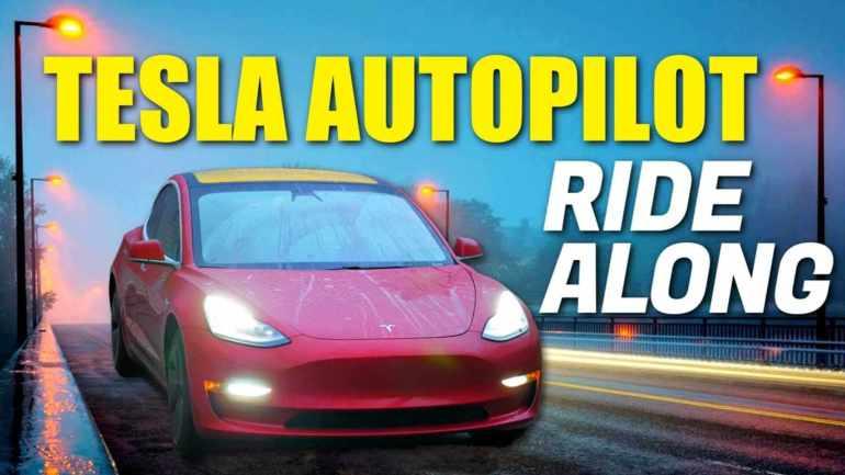 Как Tesla Autopilot справляется с ежедневными поездками на работу?