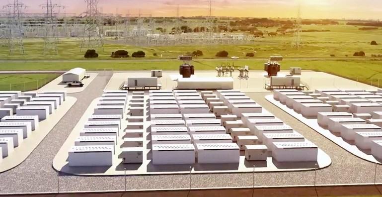 Мегапакеты Tesla будут использоваться на гигантской аккумуляторной ферме мощностью 300 МВт в Австралии