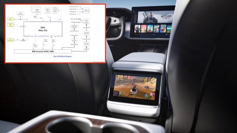 Tesla Model S и Model X обновили игры, утекли данные о графическом процессоре информационно-развлекательной системы