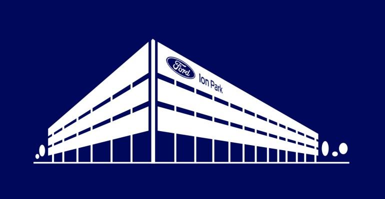 Ford объявляет о создании Ion Park для производства и исследования аккумуляторов для электромобилей