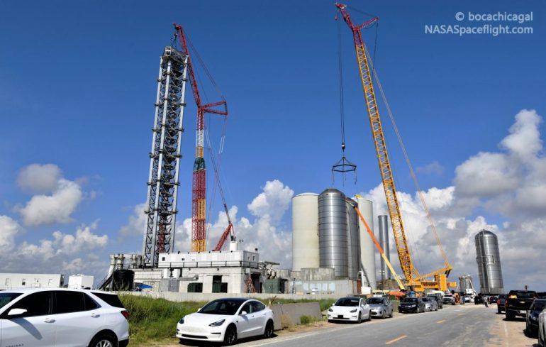 SpaceX переносит акцент в Южном Техасе на орбитальную стартовую площадку Starship