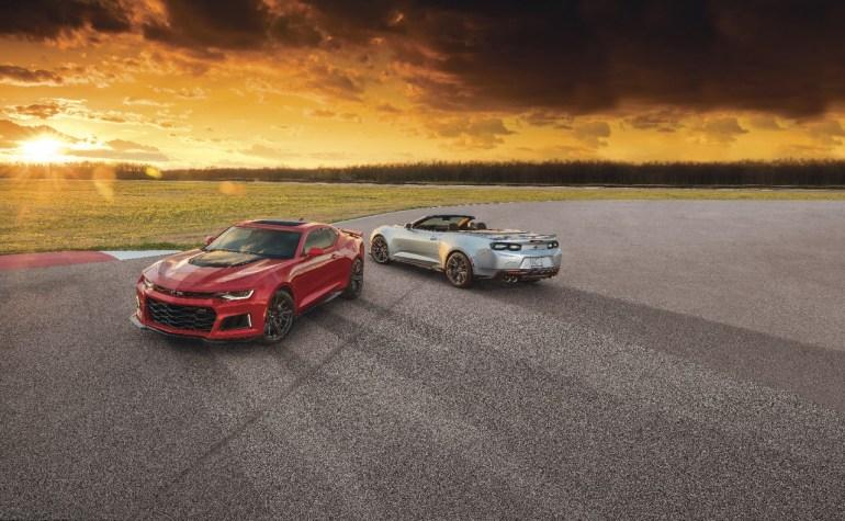 Chevrolet обдумывает отказ от Camaro в качестве полностью электрического седана