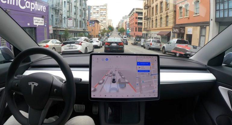 Tesla FSD Beta 9 получит обновление с «несколькими улучшениями» в пятницу